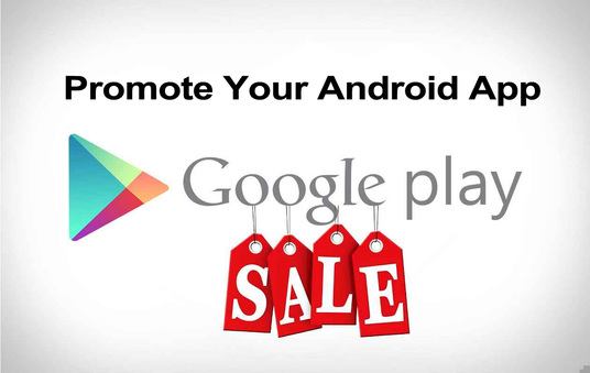 promote your Android App in 7 real ratings on Playstore