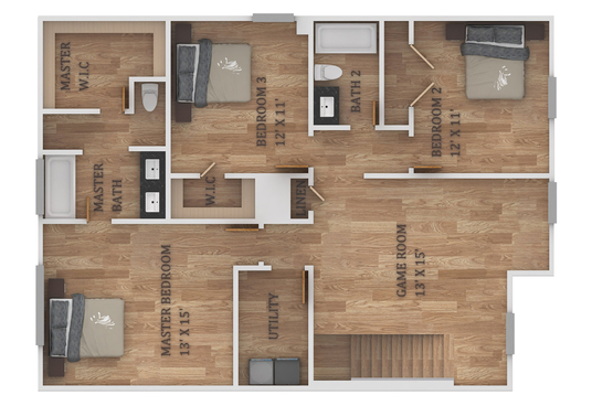 create your colorful FLOOR PLAN with furniture layout