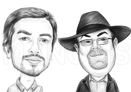 Draw Caricatures from Photos
