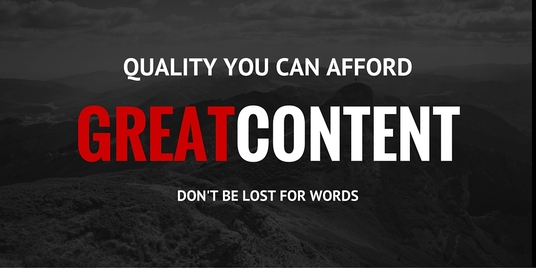 I will write content for your website/business/publication