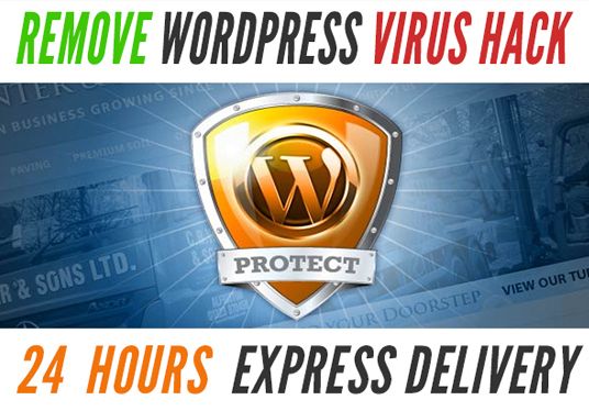 Fix HACKED Wordpress site and secure it for £5 : wordpressfixed