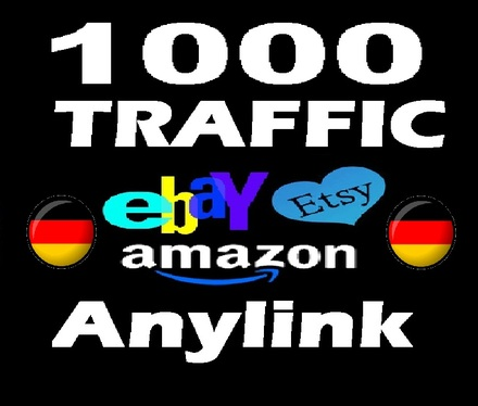 send 1000  country- TARGETED Amazon / Etsy / Ebay  human organic Traffic