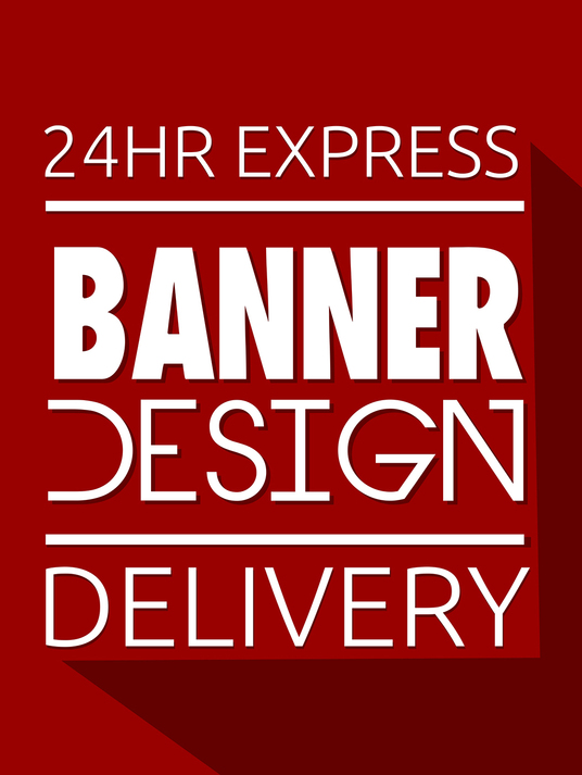 I will design banners