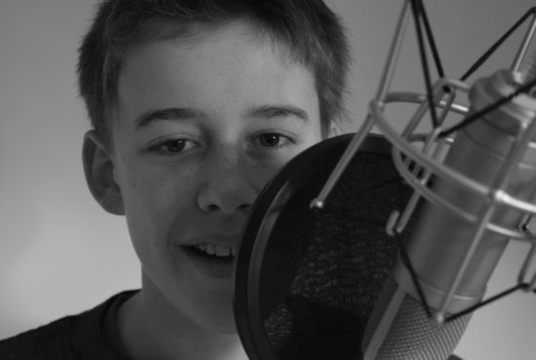 record a 40 word English, British accent, child voiceover