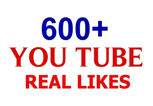 I will provide 600 Youtube Likes