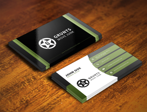 design stylish awesome and creative business card for a5 sutapa