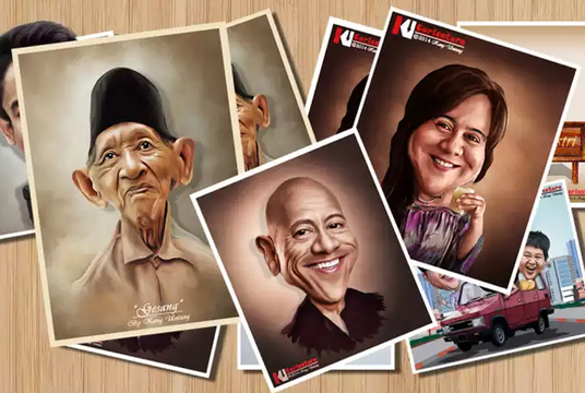 I will make Digital Caricature From Your Photo