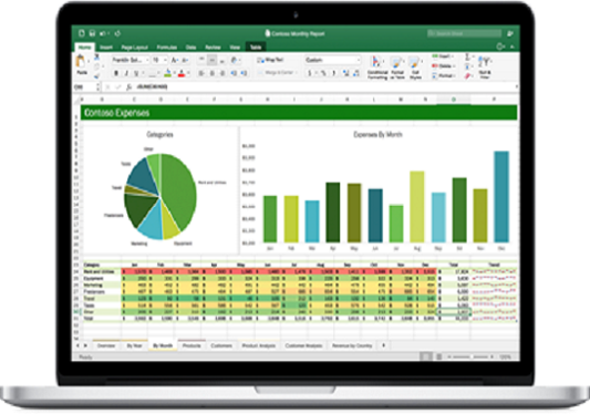 do any work in excel