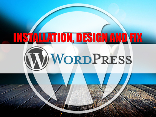 fix your WordPress issue like plugin, design, theme, logo, responsive