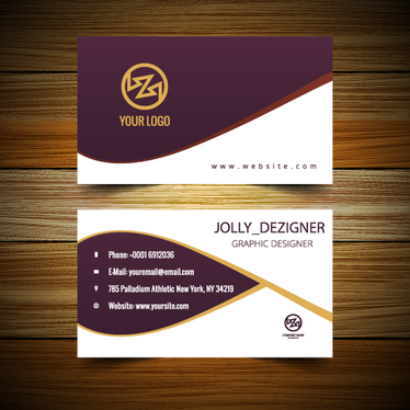 Design Professional Smashing 2 Sided Printable Business Card For 50