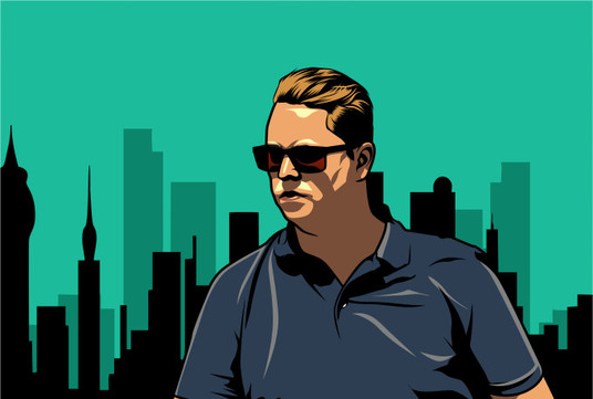 I will draw your portrait like a GTA Character