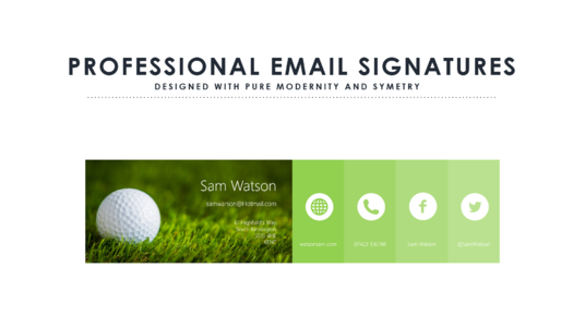 how to create a graphic email signature