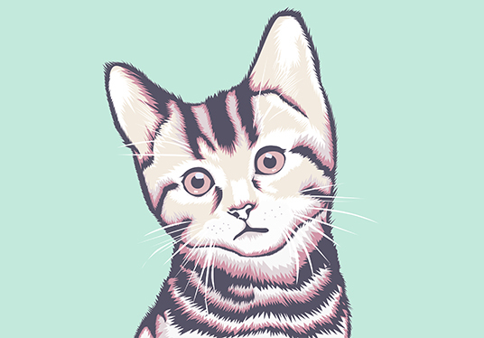 I will make vector art of your pets