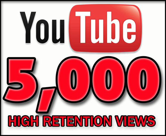 I will add 5000 Real HQ YouTube Views