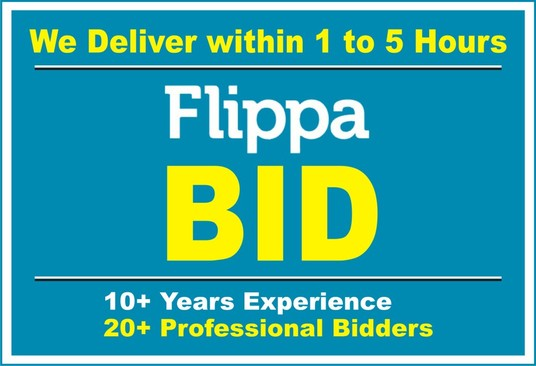 I will place a Bid on your Flippa Auction to Increase the Price