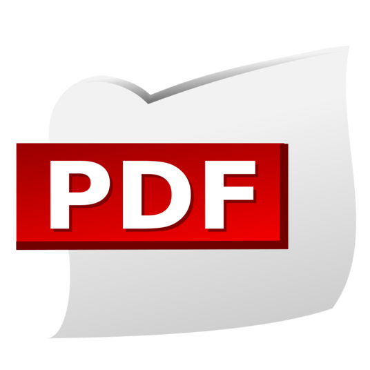 I will do almost anything with a pdf document