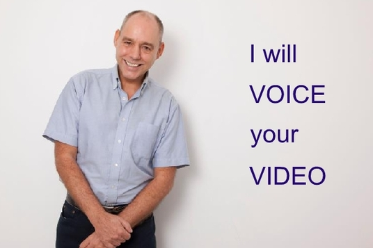 be the voice of your video