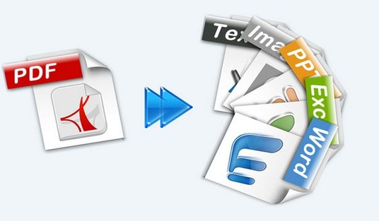 I will convert pdf to word, excel, image and powerpoint