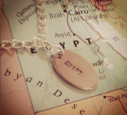 I will make a personalised travel bracelet with up to 2 charms