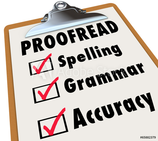 I will proofread your essay or article up to 1000 words for spelling and grammar mistakes in UK E