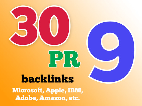 cccccc-boost your Google Rankings with 30 PR9 High Pr Seo Social Backlinks