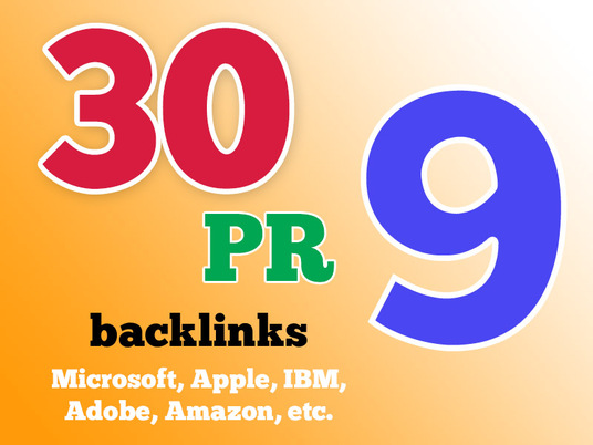 I will boost your Google Rankings with 30 PR9 High Pr Seo Social Backlinks