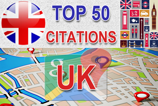 I will Do Manually TOP 50 UK Google Map Citations for Local SEO