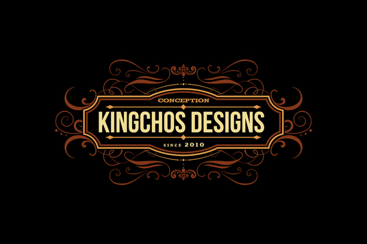 I will design a Royal Vintage Logo with FREE source file for £5