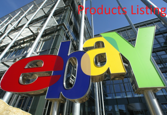 I will upload 20 products on your eBay website
