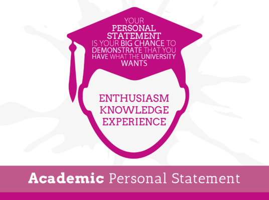 I will write an impressive personal statement for College,University or Job application