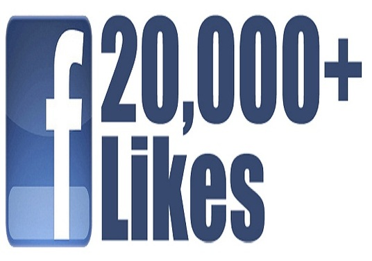 I will Give you 20,000 Facebook Fan Page post likes