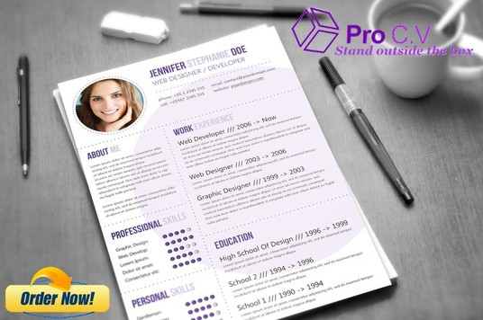 I will design, create and write a STANDOUT PROFESSIONAL C.V/Resume for you