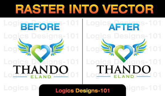 convert raster to vector manually