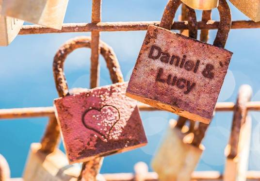 I will design a Love lock