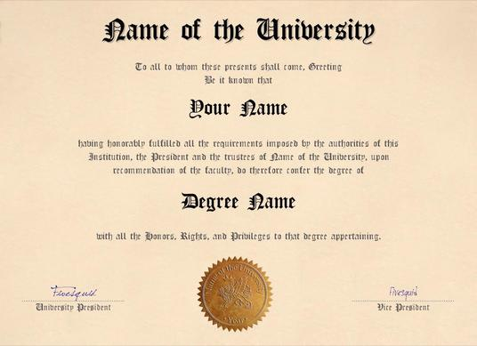 I will create a Diploma that looks 100% Real