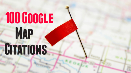 I will do 100 Google map citations