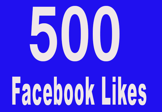 I will add 500 real facebook likes