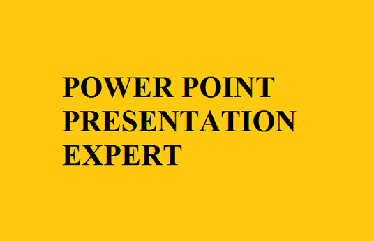 I will make a powerpoint presentation for you