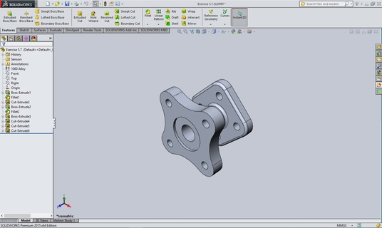 I will do excellent job in Solidworks either simple or complex
