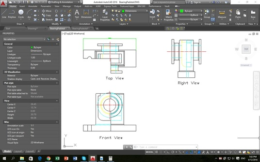 I will do excellent job in AutoCAD either engineering drawings or 3D modeling