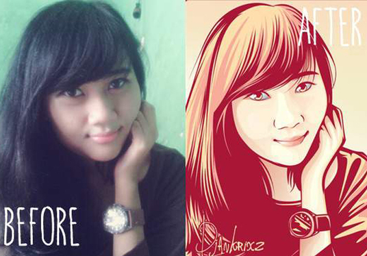I will trace your photo into vector