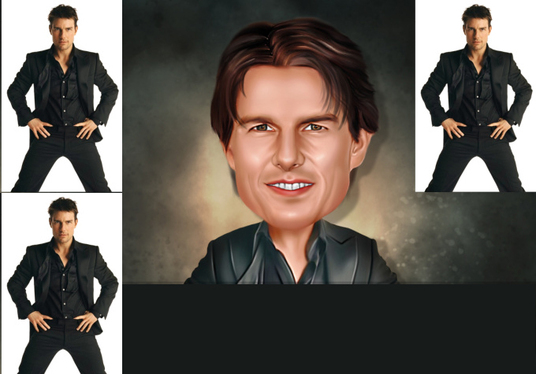 I will do Digital Caricature From Your Photo