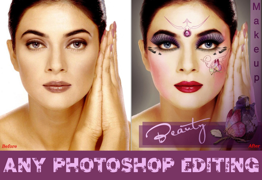 I will do any PHOTOSHOP editing within 24 hr
