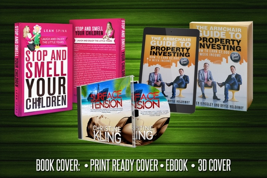I will design AMAZING E-Book Cover