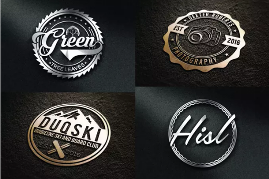 I will design badge and company logo for you