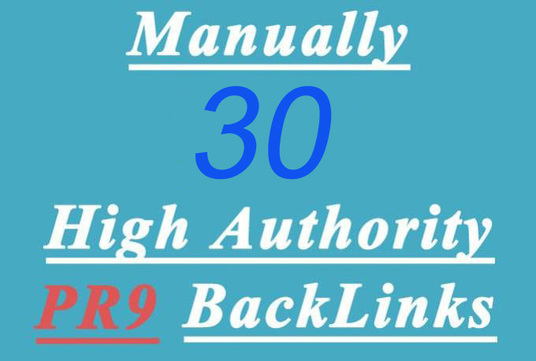 I will create High Domain Authority Backlinks