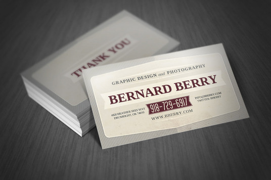 design the perfect RETRO Business Card for you