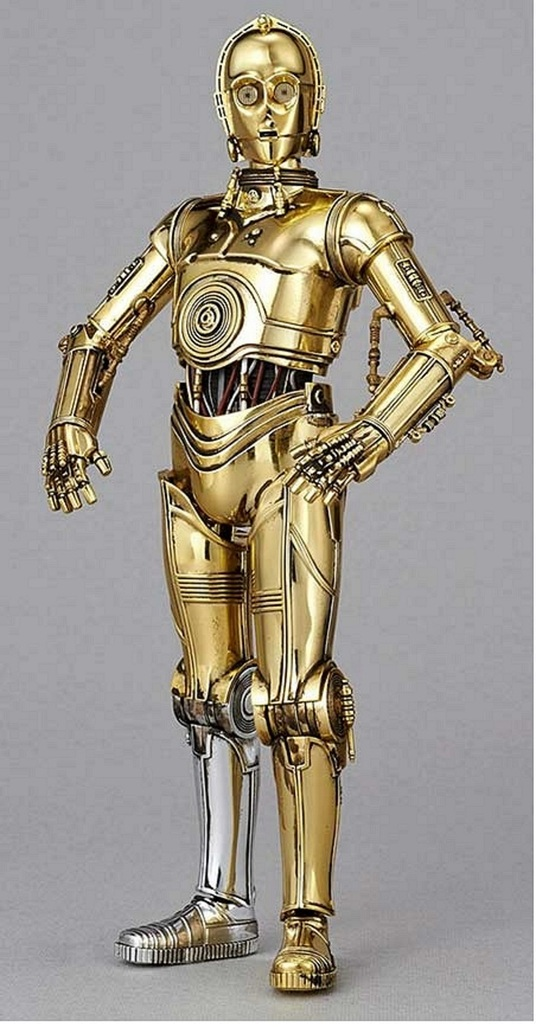 I will record lines for you in a C-3PO voice