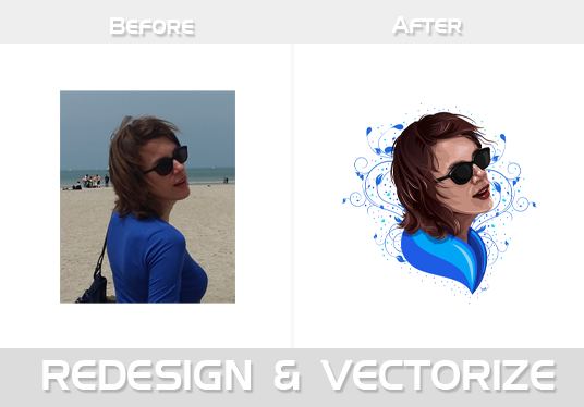 I will Convert your image/sketch/Logo files to ai vectors in 12 hour