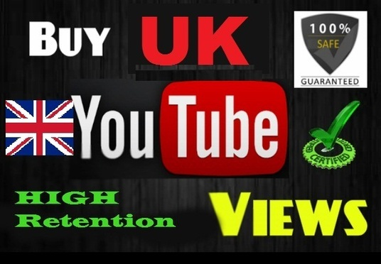 I will Added 1000 UK Targeted Youtube Views
